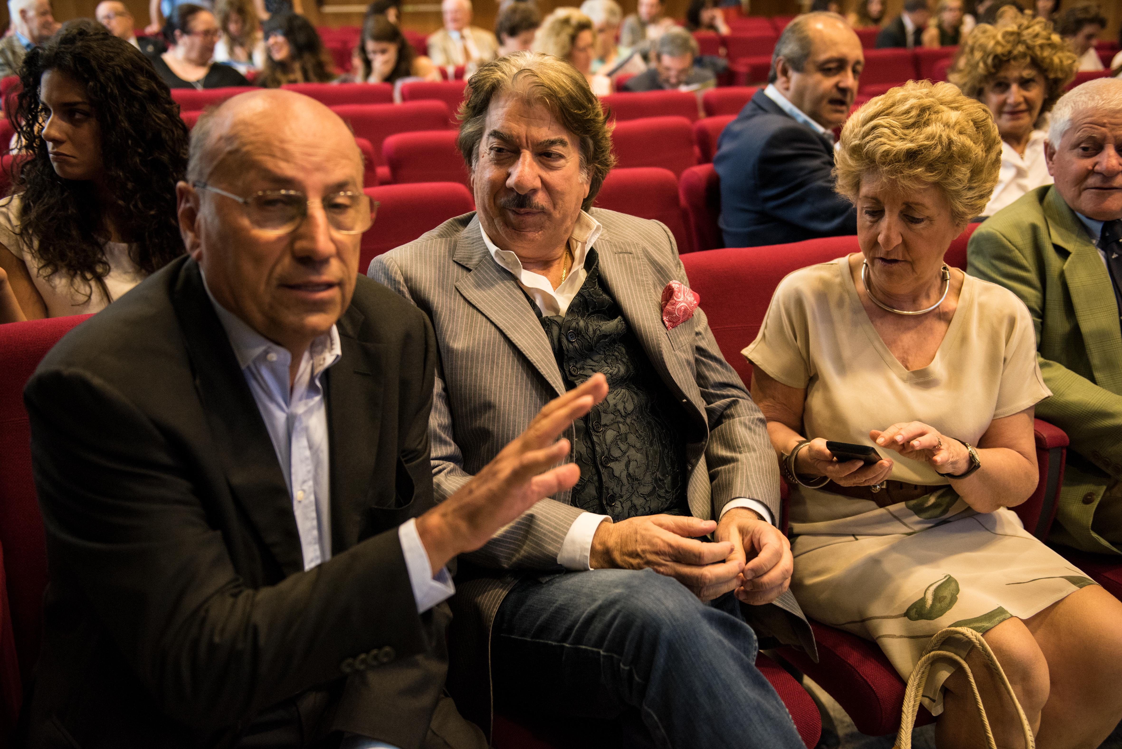 Da sinistra: Franco Polver e Marco Columbro.